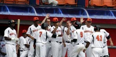 Nederland overleeft de groepsfase op het WK Honkbal na vijf zegen op rij