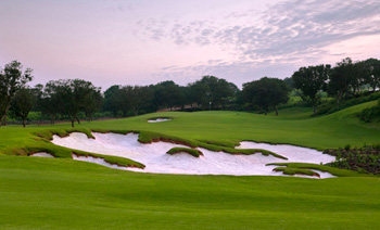 Mission Hills golfcourse in Hainan
