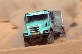 Dakar Rally met de Iveco van Gerard de Rooy