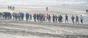 Halve Marathon in Egmond aan Zee