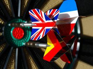 De 10 Nederlandse darters op het WK